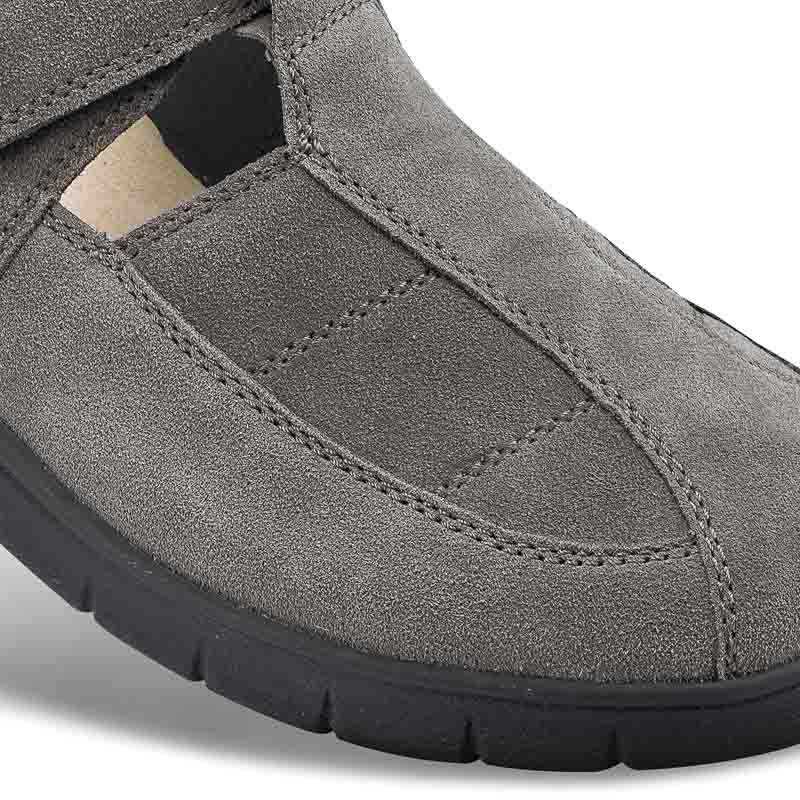 Chaussure confort Helvesko : PAOLO, gris Image 2