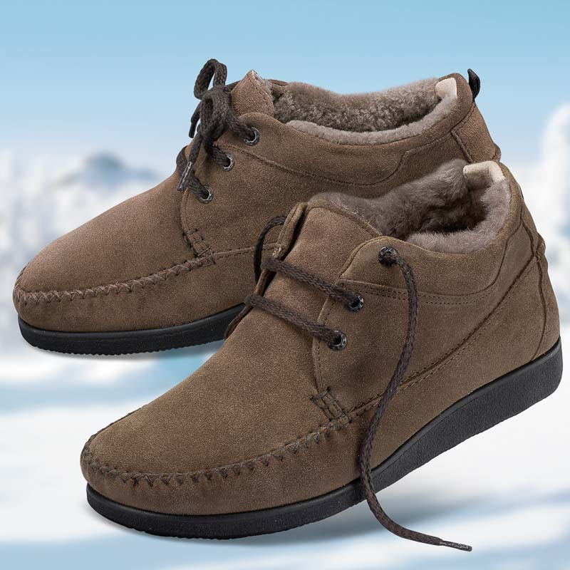 Chaussure confort Helvesko : FAVORIT, marron