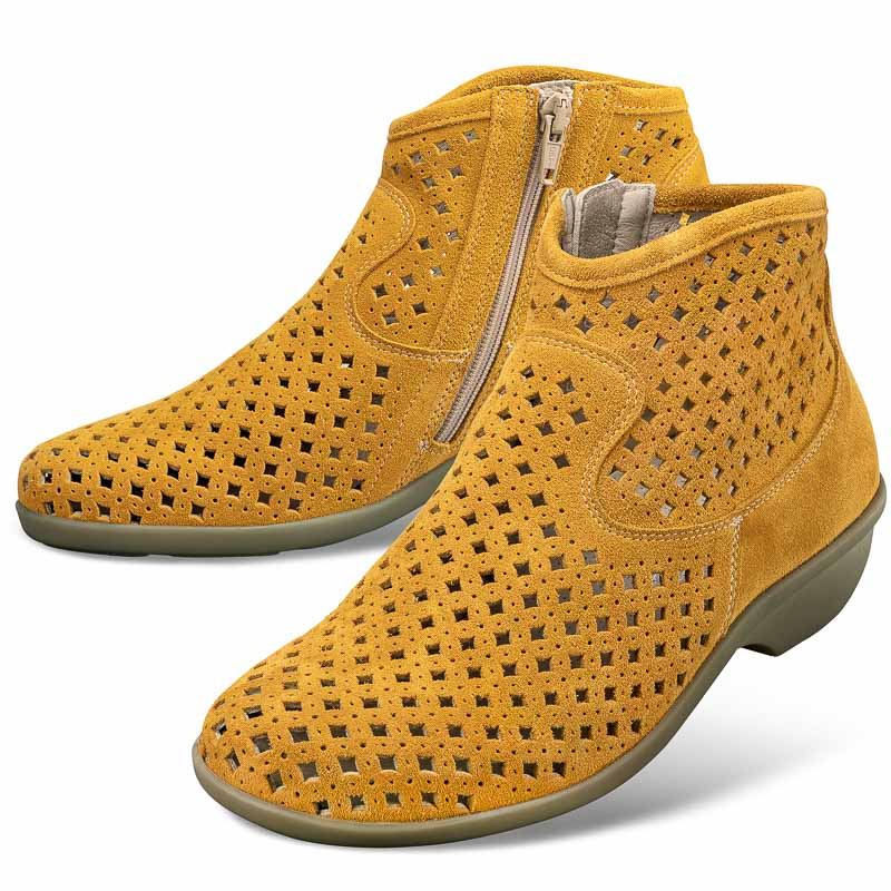 Chaussure confort LadySko : LESLEY, curry
