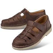 Chaussure confort dansko : BORIS YAK, marron foncé