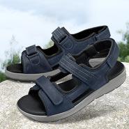 Chaussure confort Helvesko : SAMUEL, bleu