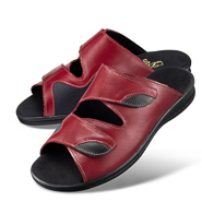 Chaussure confort LadySko : DINA, rouge