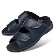 Chaussure confort LadySko : DINA, bleu foncé