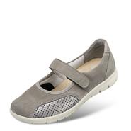 Chaussure confort Helvesko : BETTINA, gris (cuir nubuck)