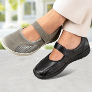 Chaussure confort Helvesko : Ballerine BETTINA