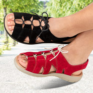 Chaussure confort Helvesko : Spartiate ALLEGRA