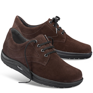 Chaussure confort Helvesko : YORK, marron