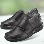 Chaussure confort Helvesko : DOMINIK - Chaussure à scratches