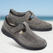 Chaussure confort Helvesko : PAOLO, gris