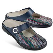 Chaussure confort Helvesko : NINA, bleu multi