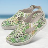 Chaussure confort Helvesko : VIA, vert multi