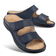 Chaussure confort Helvesko : HUGO, bleu foncé