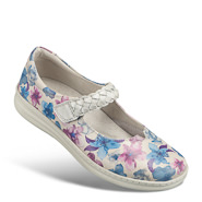 Chaussure confort Helvesko : ELOISE, blanc multi