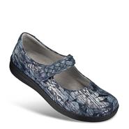 Chaussure confort Helvesko : ELOISE, bleu multi