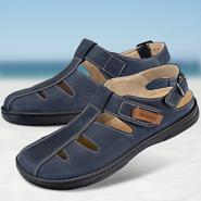 Chaussure confort Helvesko : NIEL, bleu