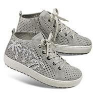 Chaussure confort Helvesko : PALMA, gris