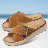 Chaussure confort Helvesko : ALESSA, marron