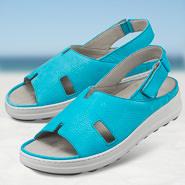 Chaussure confort Helvesko : HYDRA, turquoise