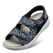 Chaussure confort Helvesko : ALIKA, bleu multi