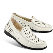 Chaussure confort Helvesko : CHRISTY, blanc