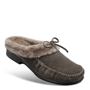 Chaussure confort Helvesko : MOLLY, gris-marron