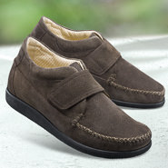 Chaussure confort Helvesko : TRAVEL, gris-marron
