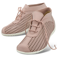 Chaussure confort Helvesko : MABEL, rose