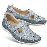 Chaussure confort Helvesko : LAURINA, bleu