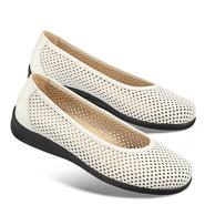 Chaussure confort LadySko : CLAUDETTE, blanc