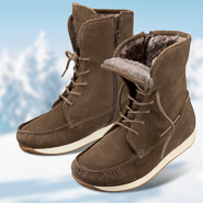Chaussure confort Helvesko : PINELLA, marron