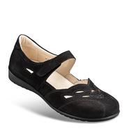 Chaussure confort Helvesko : JULE, noir