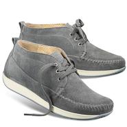 Chaussure confort Helvesko : MINKA, gris