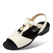 Chaussure confort Helvesko : WALA, blanc (cuir nappa)