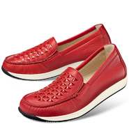 Chaussure confort Helvesko : CORY, rouge
