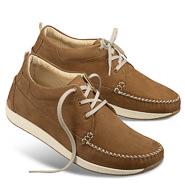 Chaussure confort Helvesko : LON, ambre