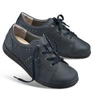 Chaussure confort Helvesko : FRAUKE, bleu foncé