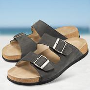 Chaussure confort Helvesko : PORTO, gris